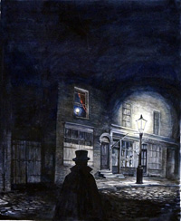 Belgrave Square Book Cover Art art by Kim Palmer
