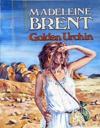 Golden Urchin book cover art art by Kim Palmer