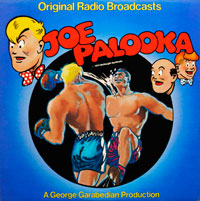 Joe Palooka - Original Radio Broadcasts (vinyl record) by Ham Fisher et al