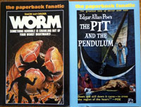 The Paperback Fanatic Set issues 37, 38, 39 40 by