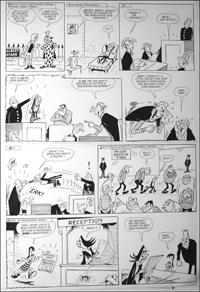 Beastenders - Lofty Hits The Beak art by Reg Parlett