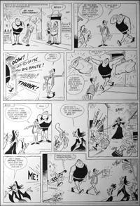 Beastenders - Strongman (TWO pages) art by Reg Parlett