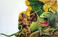 Myths and Legends Siegfried the Dragon Slayer by Roger Payne
