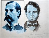 The Notorious Wyatt Earp art by Roger Payne
