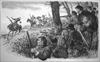 The Irish Rebellion of 1579 art by Ken Petts