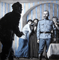 End of an Era - Death of the Czar art by Ken Petts