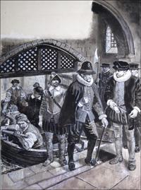 Treachery in the Tower art by Ken Petts