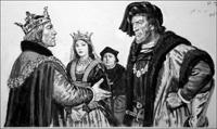 Earl of Warwick - The Kingmaker art by Ken Petts