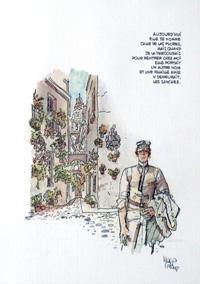 Aujourd'Hui art by Hugo Pratt