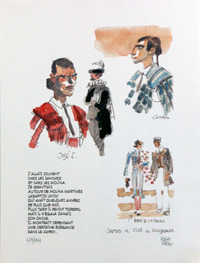 Corto Maltese and the Bullfighter by Hugo Pratt