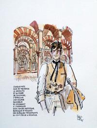 Mesquita art by Hugo Pratt