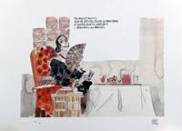 Cordoba Lady art by Hugo Pratt