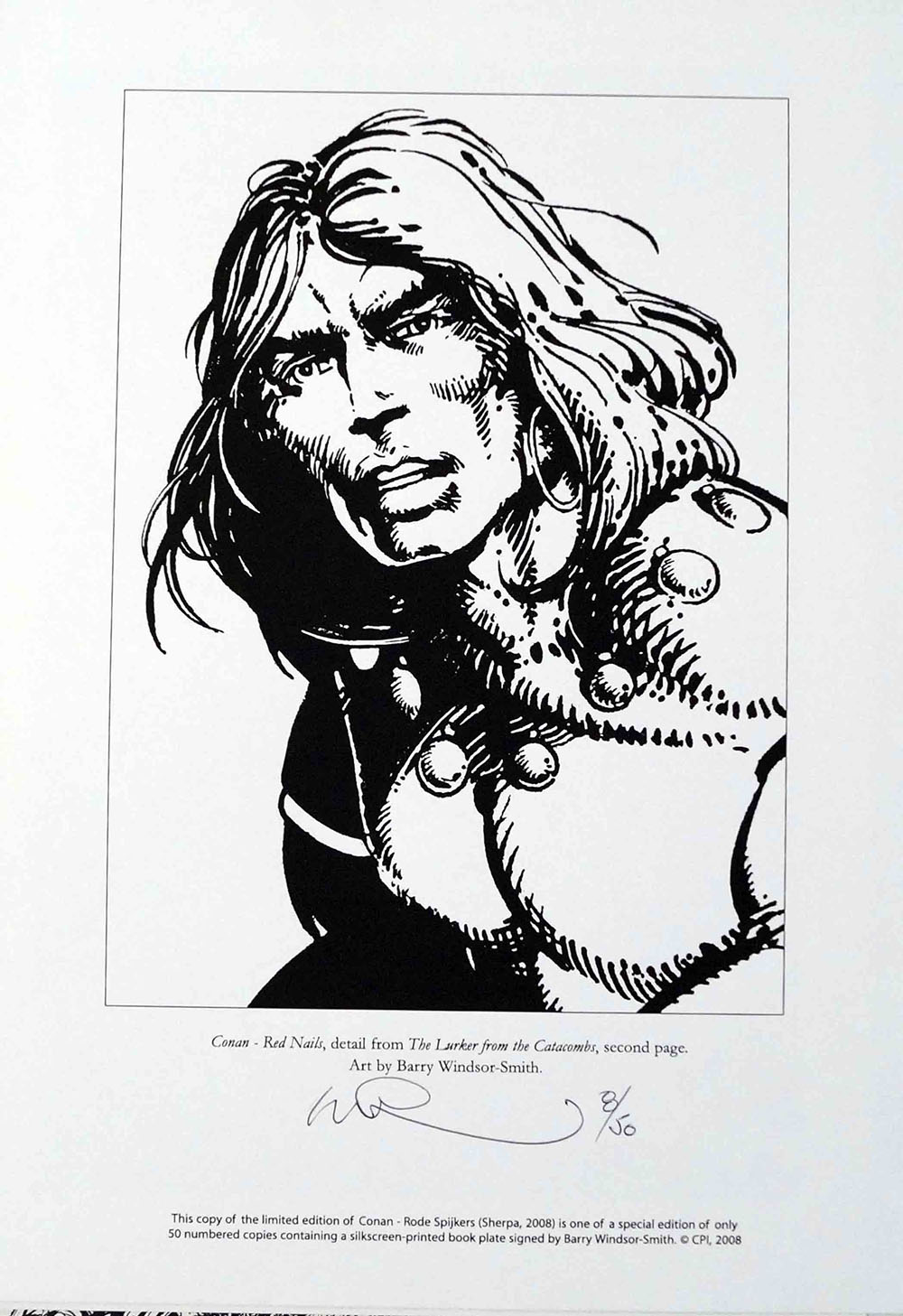 Signed Numbered BWS Conan Print (click for bigger picture)