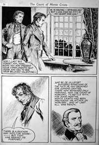 Count of Monte Cristo - Arrest art by Thomas Heath Robinson