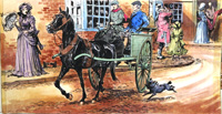 Black Beauty - Attention in the Streets art by Carlos Roume