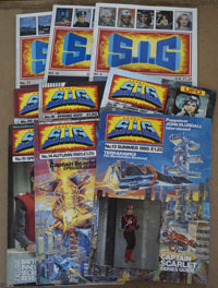 Supermarionation Is Go #s 8, 10, 11,13, 14, 15, 18, 19, 20  (9 issues)
