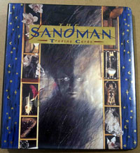 The SANDMAN Trading card set in folder