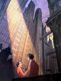 La Dernier Plan (The Last Plan) art by Francois Schuiten