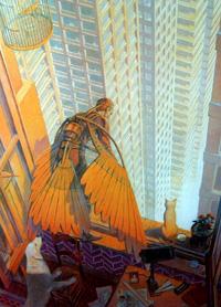 Shadow of a Doubt art by Francois Schuiten