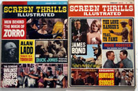 Screen Thrills Illustrated Complete Set of issues 1- 10