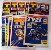Collection of 10 TV21 comics New Series (1971)
