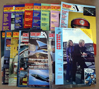 Century 21 magazine 1,2,3,4,5,6,7,8,9,10,11,12,13,14,15  (15 issues)