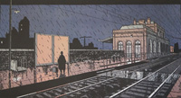 The Last Additional Train: Moonlight Shadow by Jacques Tardi