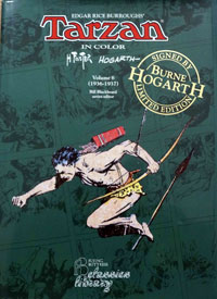 Edgar Rice Burroughs' Tarzan in color (Four Volumes) (Signed Numbered Editions)