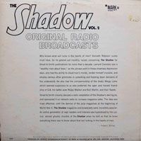 The Shadow Vol.2 - Original Radio Broadcasts (vinyl record) by Kenneth Robeson et al