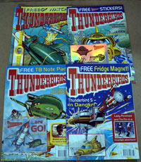 Thunderbirds weekly Nos 18, 19, 26, 30  (4 issues all with Free gifts)