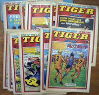 Collection of 24 Tiger comics (1980)