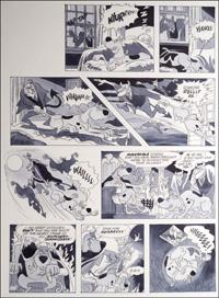 Scooby Doo: Judgement Day art by Bill Titcombe