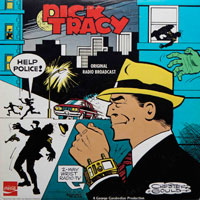 Dick Tracy - Original Radio Broadcast (vinyl record) by Chester Gould