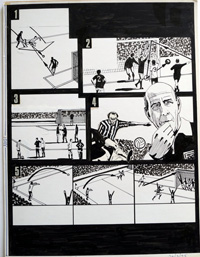 'You Are The Ref' comic strips by Paul Trevillion