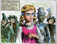 Wizard of Oz - Through Emerald Eyes art by Giorgio Trevisan