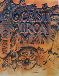 The Cast Iron Man book cover art art by 20th Century unidentified artist