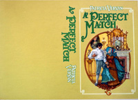 A Perfect Match book cover art art by 20th Century unidentified artist