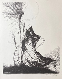 The Roots of Fear art by Charles Vess