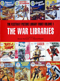 Fleetway Picture Library Index vol 1: War Picture Libraries