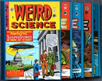 The Complete EC Library: Weird Science (4 Volume Boxed Set) by Edited by Al Feldstein, written by Al Feldstein, William M. Gaines & others