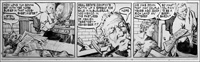 Matt Marriott daily strip - Out of Jail art by Tony Weare