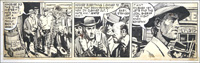 Matt Marriott Daily Strip: Easy Stranger art by Tony Weare