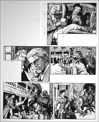 Rookwood - The Games A-Foot (TWO pages) art by Tony Weare