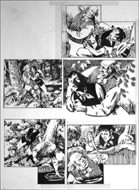 Rookwood - Mercy and Escape (TWO pages) art by Tony Weare