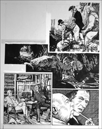 Rookwood - To the Manor Born (TWO pages) art by Tony Weare