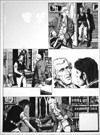 Rookwood - Confrontation (TWO pages) art by Tony Weare