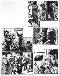 Rookwood - Amongst Thieves (TWO pages) art by Tony Weare