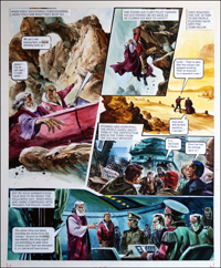 Trigan Empire: Casino (TWO pages) by Gerry Wood