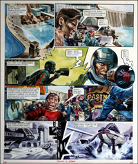 Trigan Empire: Welcome to the Machine (TWO pages) by Gerry Wood