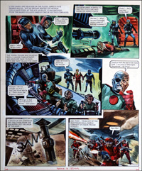Trigan Empire: End Story (TWO pages) by Gerry Wood